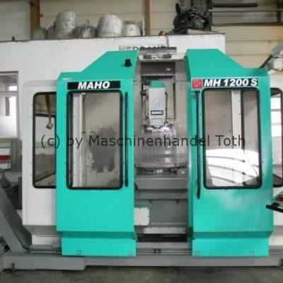 Bearbeitungszentrum  Maho 1200 S WZW wegen Geschäftsaufgabe