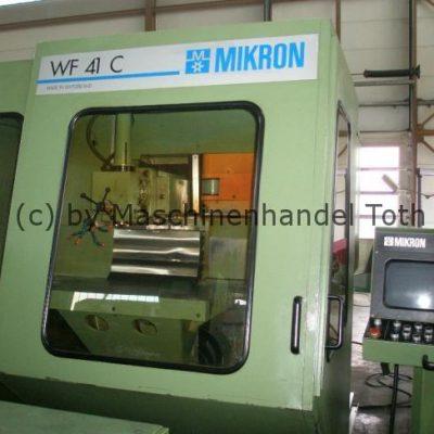CNC Fräsmaschine Mikron WF 41 C WZW, wegen Geschäftsaufgabe