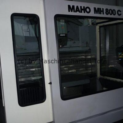 Bearbeitungszentrum Maho 800 C, 5 Seiten-Bearbeitung wegen Geschäftsaufgabe
