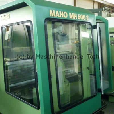 Bearbeitungszentrum Maho 600 S, 5 Achsen wegen Geschäftsaufgabe