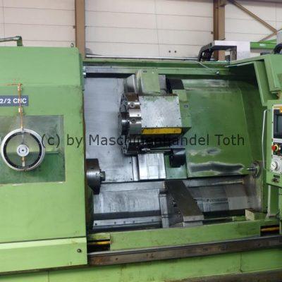 CNC Drehmaschine WMW Niles DFS 2/2 wegen Geschäftsaufgabe