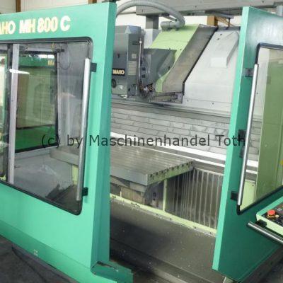 Bearbeitungszentrum Maho 800 C wegen Geschäftsaufgabe
