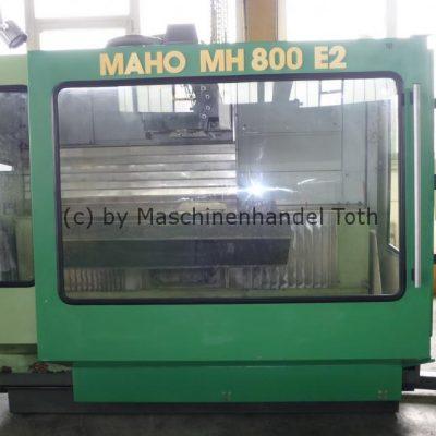 CNC Universal Fräsmaschine Maho 800 E 2, 20 fach Werkzeugwechsler wegen Geschäftsaufgabe