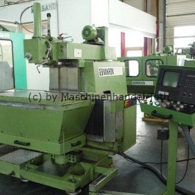 CNC Fräsmaschine Mikron WF 51 C wegen Geschäftsaufgabe