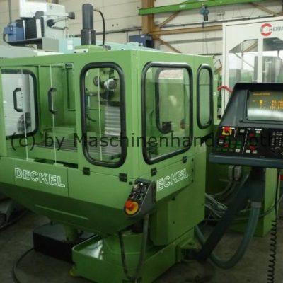 CNC Fräsmaschine Deckel FP 3  TNC 355 Heidenhain wegen Geschäftsaufgabe