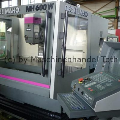 CNC Fräsmaschine Maho 600 W TNC 425