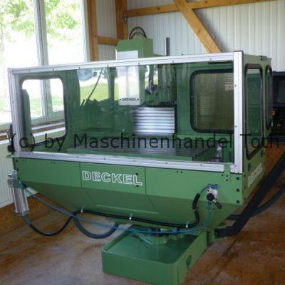 CNC Fräsmaschine Deckel FP 4 NC Dialog 11 wegen Geschäftsaufgabe