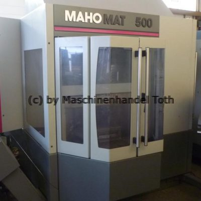 Bearbeitungszentrum Mahomat 500 IKZ, wegen Geschäftsaufgabe