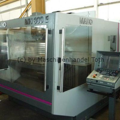 Bearbeitungszentrum Maho 800 E 2 mit 20 fach Wechsler