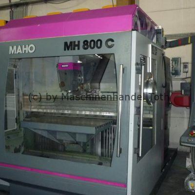 Bearbeitungszentrum Maho 800 C bis 24.000 U/min wegen Geschäftsaufgabe