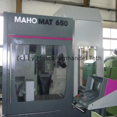 Bearbeitungszentrum Mahomat 650 inkl. 4. Achse, wegen Geschäftsaufgabe