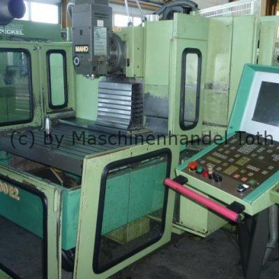 CNC Fräsmaschine Maho 600 E 2 WZW