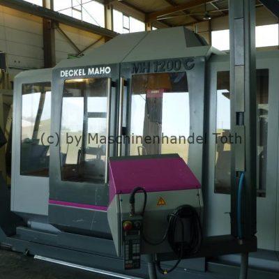 Bearbeitungszentrum Maho 1200 C, 5 Seitenbearbeitung Angebot wegen Geschäftsaufgabe
