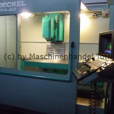 CNC Fräsmaschine Deckel FP 4-60 wegen Geschäftsaufgabe