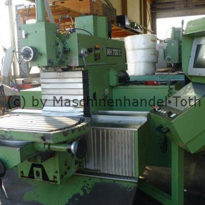 CNC Fräsmaschine Maho 700 C 4. Achse wegen Geschäftsaufgabe