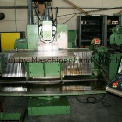 CNC Fräsmaschine Deckel FP 5 NC Dialog 4