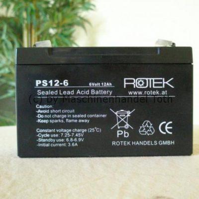 Bleiakku Rotel PS12-6 12A 6V