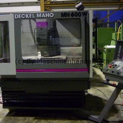 CNC Fräsmaschine Maho 600 W TNC 425 wegen Geschäftsaufgabe