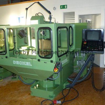 CNC Fräsmaschine Deckel FP 3 NC Dialog 11 mit Grafik