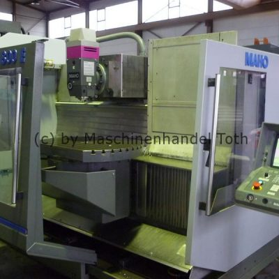 CNC Fräsmaschine Maho 800 E, 4. Achse wegen Geschäftsaufgabe