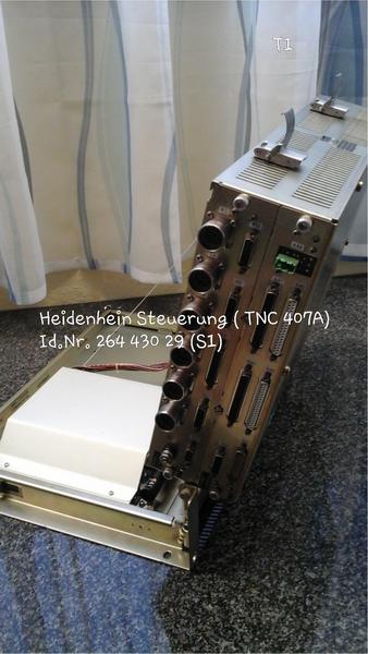 Heidenhain Steuerung (TNC 407 A) Id.Nr. 264 430 29 (S1)
