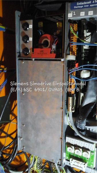 Siemens Simodrive Einspeisemodul (E/R 6 SC 6901 / OVR 05 (ER) B