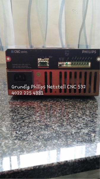 Philips Grundig Netzteil CNC 532, 4022 225 4881