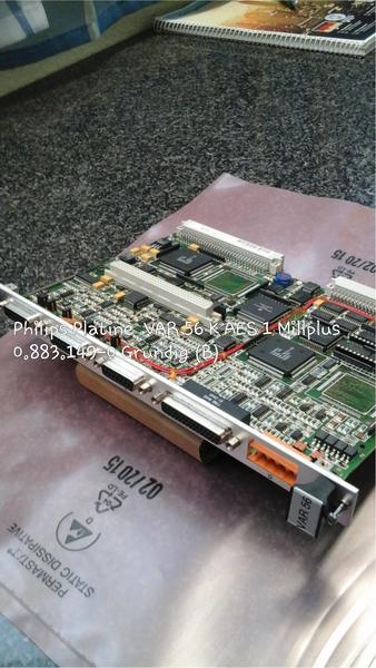 Philips Platine VAR 56 K, AES1 Millplus, 0.883.149-0 Grundig (B)