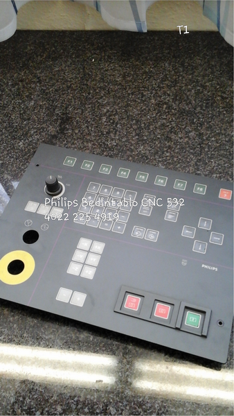Philips Bedientableau CNC 532,  4022 225 4919