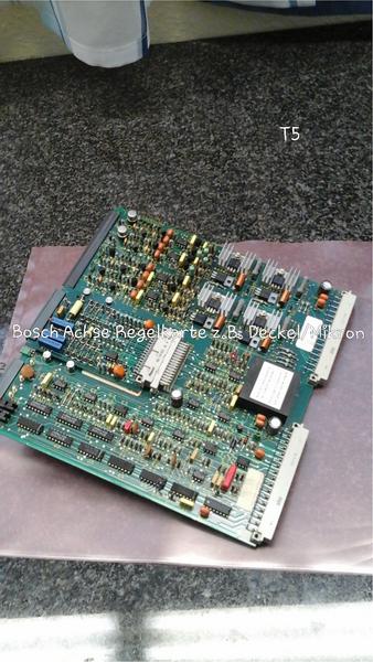 Bosch Achs-Regelkarte z.B. Deckel, Mikron