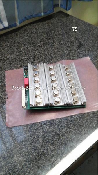 Bosch Leistungsteil Ballastkarte z. B. Deckel, Mikron