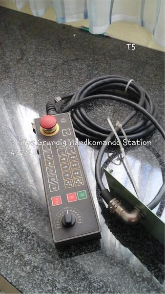 Philips Grundig Handkommando-Station CNC 432/10 wegen Geschäftsaufgabe