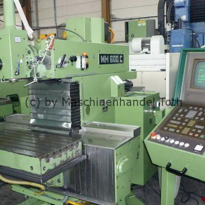 CNC Fräsmaschine Maho 600 C wegen Geschäftsaufgabe