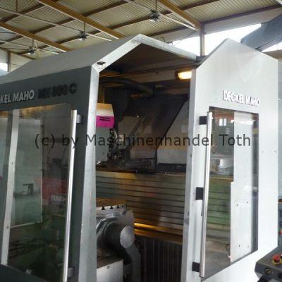 Bearbeitungszentrum Maho 800 C 5 Achsen
