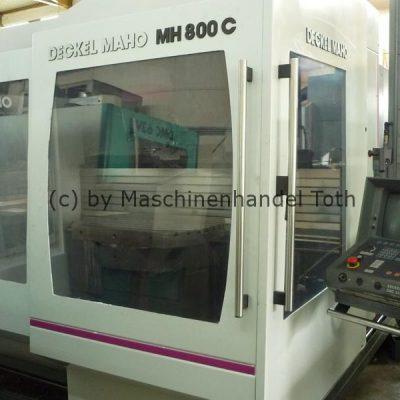 Bearbeitungszentrum Maho 800 C 4 Achsen