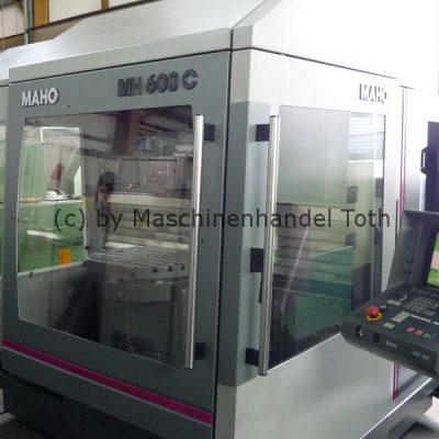 Bearbeitungszentrum Maho 600 C wegen Geschäftsaufgabe