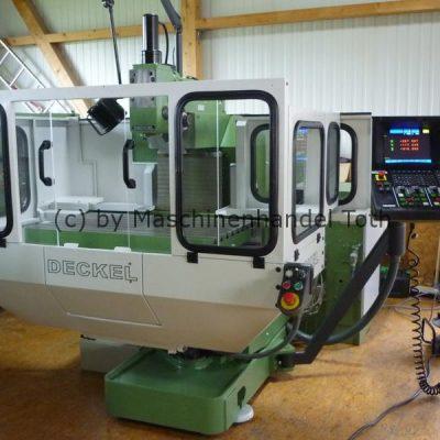CNC Fräsmaschine Deckel FP 4 A, Dialog 11