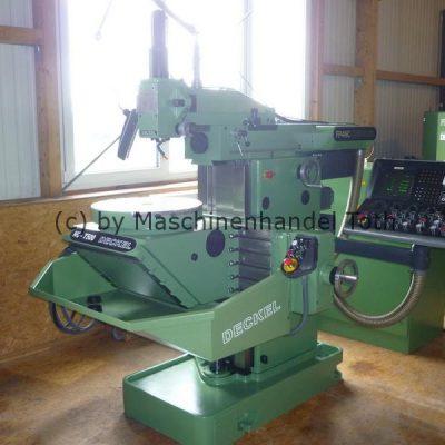 CNC Fräsmaschine Deckel FP 4 NC Dialog 4 mit NC-T 500 Rundtisch, wegen Geschäftsaufgabe