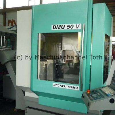 Bearbeitungszentrum DMU 50 V 3 Achsen wegen Geschäftsaufgabe