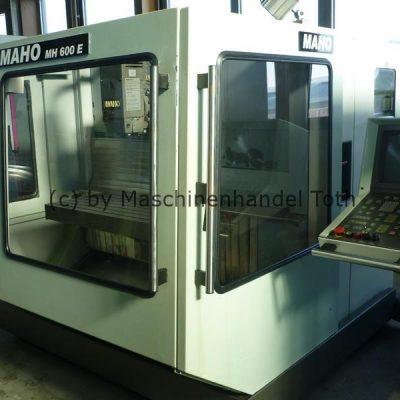 CNC Fräsmaschine Maho 600 E, wegen Geschäftsaufgabe