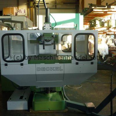 CNC Fräsmaschine Deckel FP 4 A, Heidenhain 355