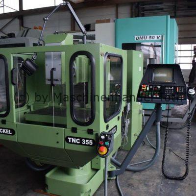 CNC Fräsmaschine Deckel FP 2 NC  Heidenhain TNC 355 wegen Geschäftsaufgabe