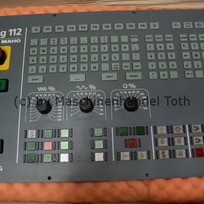 Tastatur Deckel Maho Dialog 112  – n e u –