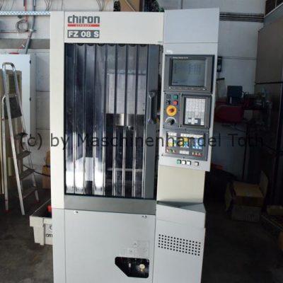 Bearbeitungszentrum Chiron FZ 08 S, wegen Geschäftsaufgabe