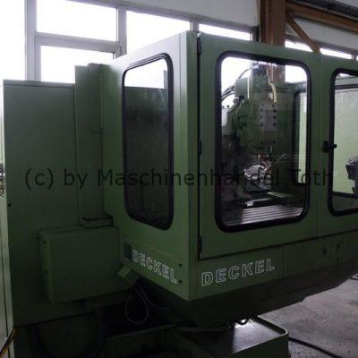CNC Fräsmaschine Deckel FP 4 A/T wegen Geschäftsaufgabe