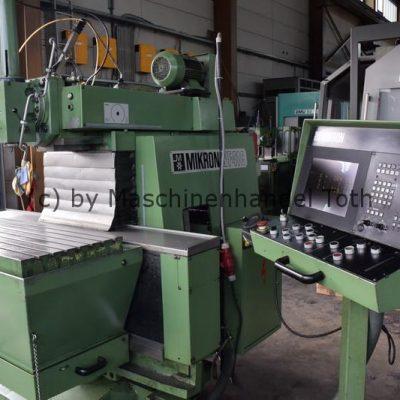 CNC Fräsmaschine Mikron WF 41 C, Heidenhain TNC 155 wegen Geschäftsaufgabe