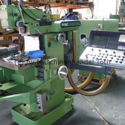 CNC Fräsmaschine Deckel FP 2 NC Dialog 3 mit Handräder