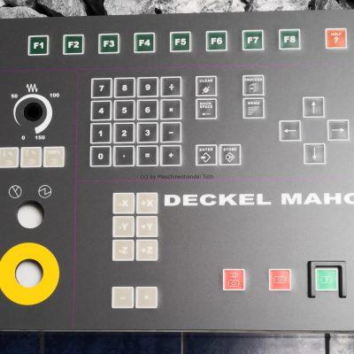 Bedienfeld Philips 532 Deckel Maho wegen Geschäftsaufgabe